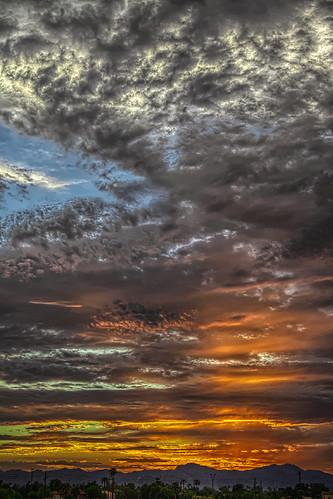 sunset summer arizona sky mountains clouds canon az hdr luminance 50d qtpfsgui