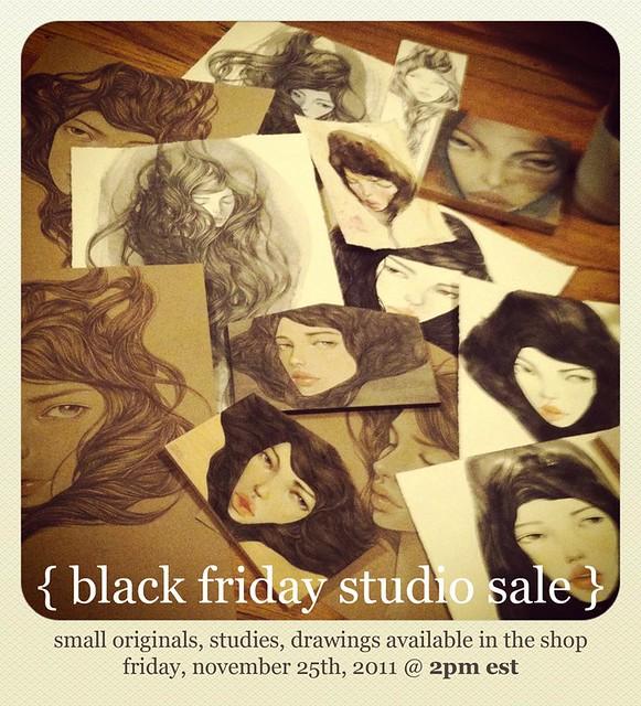 studio sale!