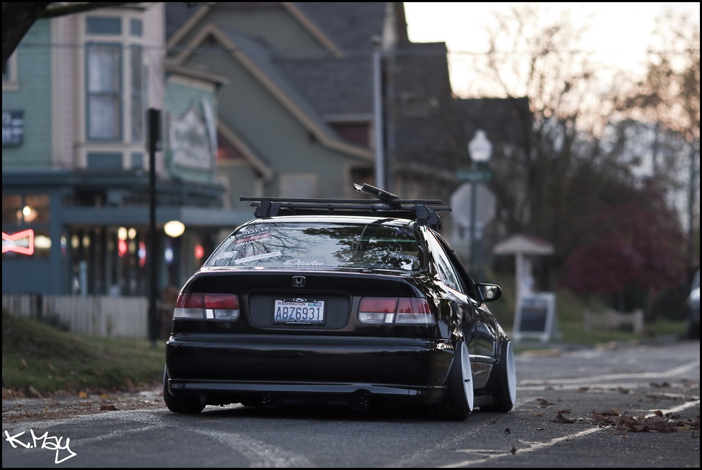 do enjoy the stanced Civic