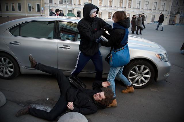 20 ноября В Петербурге прошел митинг ЛГБТ активистов за отмену принятого де