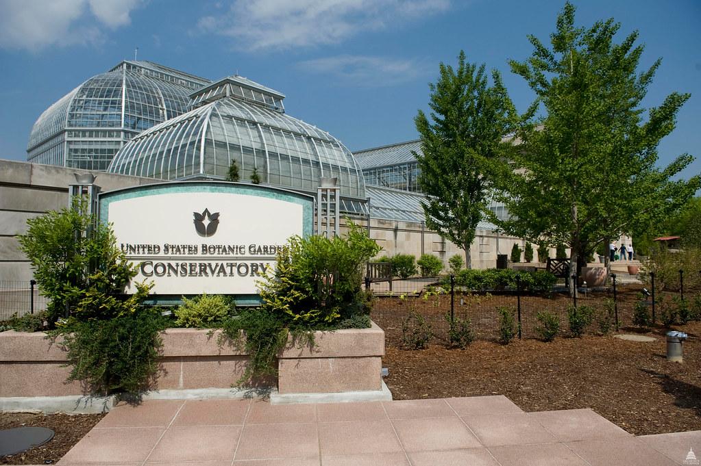 U S Botanic Garden Conservatory Architect Of The Capitol United States Capitol