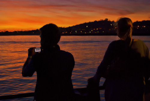 Capturing the Sunset by Damian Gadal