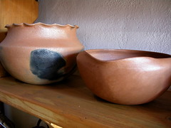 Scalloped Pots Pair B