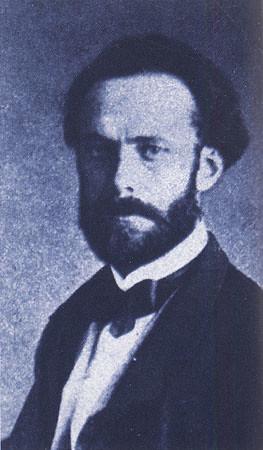 José Casado del Alisal. Fotografía de E. Juliá. Archivo de Rafael Montesinos.