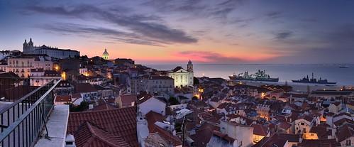 Varanda sobre Lisboa