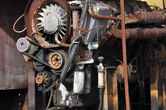 Moteur fauve / Rusty motor