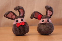 Mr & Ms Wooly Bunny