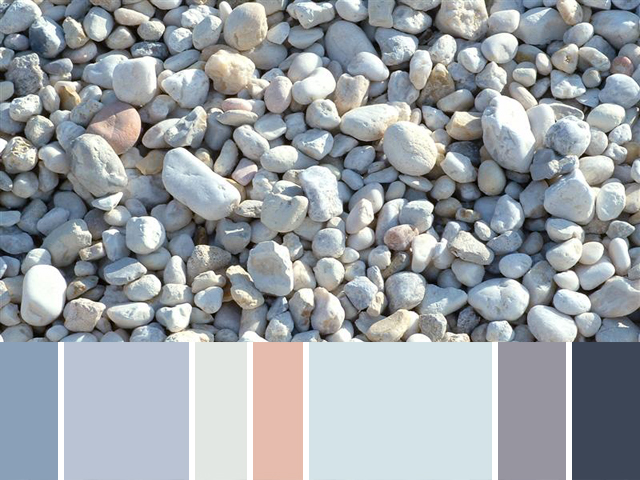 White Washed Gravel 3
