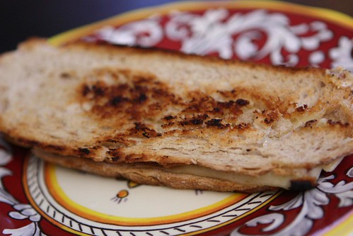 Grilled Gruyere Sandwich with SchoolHouse Kitchen Sweet Smooth Hot Mustard