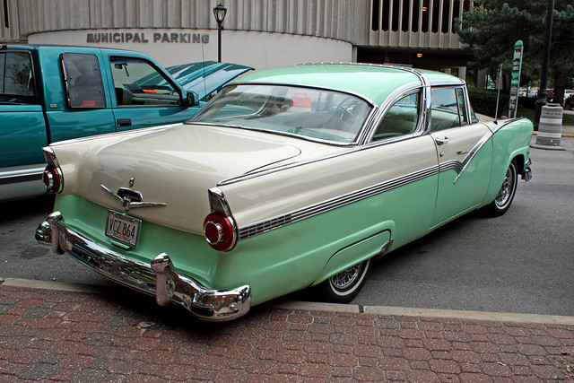 1956 ford fairlane crown victoria 2 door coupe 5 of 5 for 1956 ford crown victoria 2 door coupe