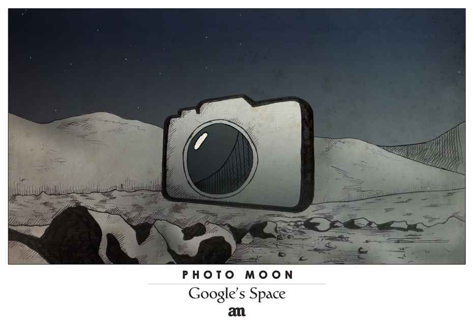 "Photo Moon ""Google's Space"""