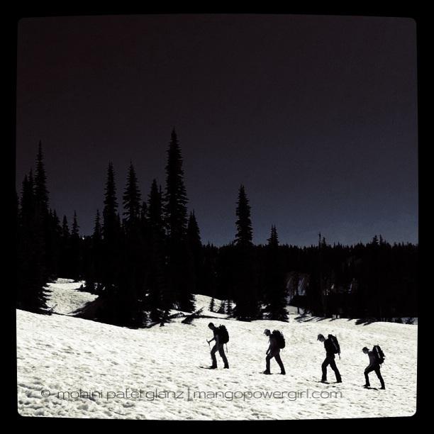 4 climbers