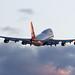 British Airways   Boeing 747-400   G-BNLZ by Patrick Lundgren