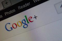 Google Plus Screen Cap