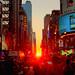 Manhattanhenge by Gary Burke.