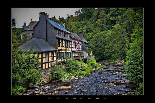 Monschau ( Montjoie) Germany/Allemagne