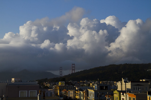 Clouds over Marin Headlands POV The Richmond, San Francisco (2011)
