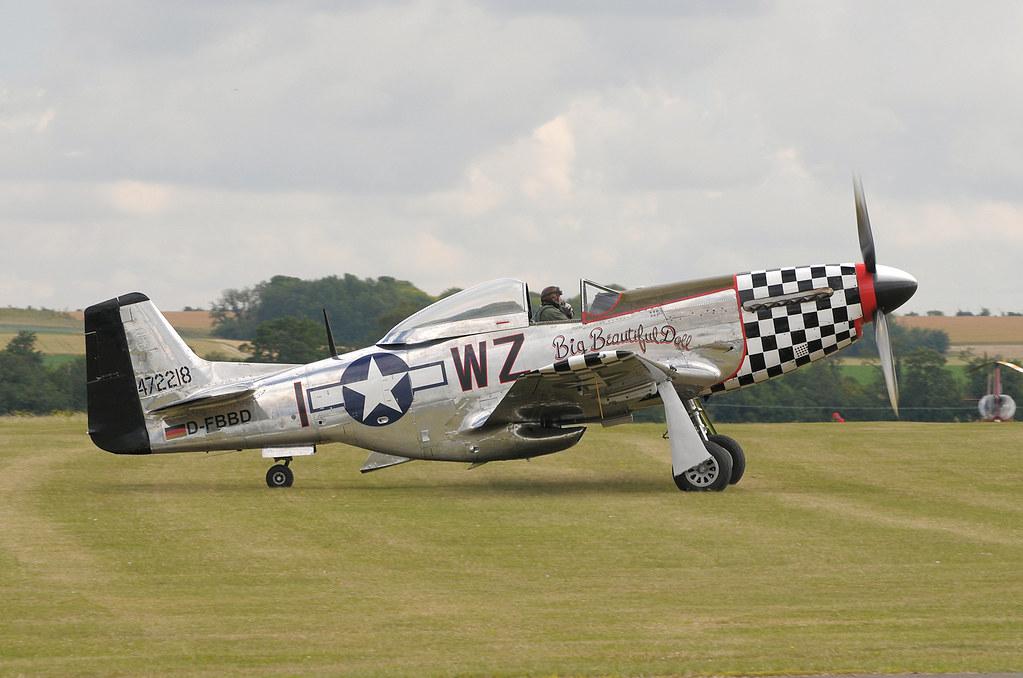 P-51 Mustang Big Beautiful Doll