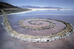 Robert Smithson, spiral-jetty, 1970