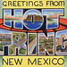 Greetings from Hot Springs, New Mexico; Now Truth or Consequences, New Mexico - Large Letter Postcard