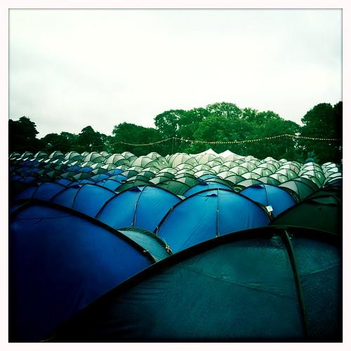 Tents At Latitude