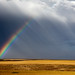 Rainbow at Oregon Raceway Park, Grass Valley, OR by .curt.