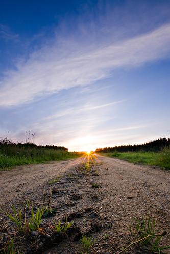 road sunset summer suomi finland sony 1020mm kesä auringonlasku kaustinen a500 sigma1020mmf35exdchsm