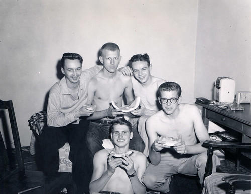 Men's Dorm Room, 1950s