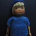 Wooden doll by shelfappeal