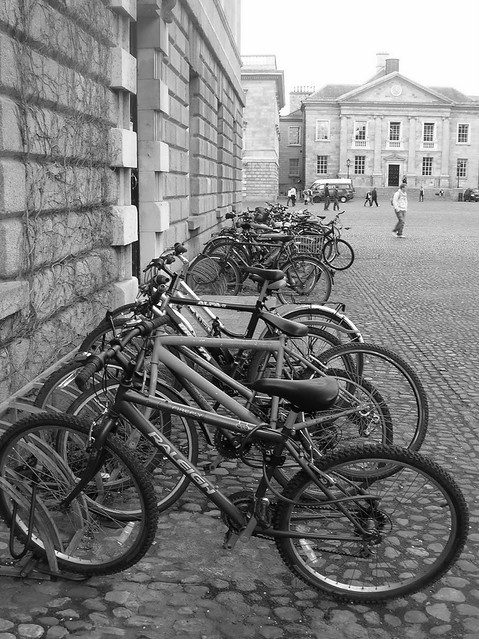 Bicycles, Trinity College, Dublin