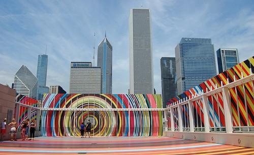 The Art Institute Of Chicago Pae White S Quot Restless Rainb