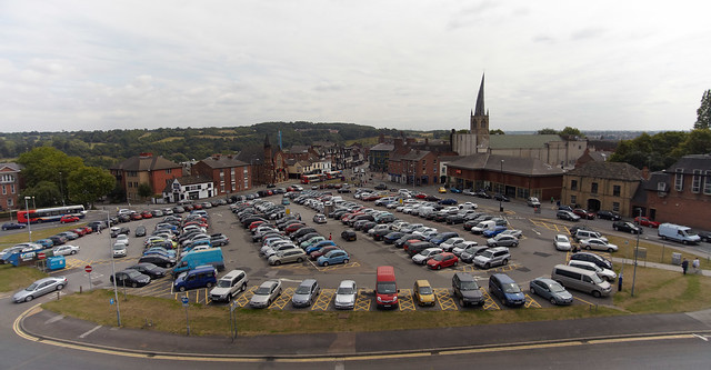 Holywell Cross Car Park Chesterfield