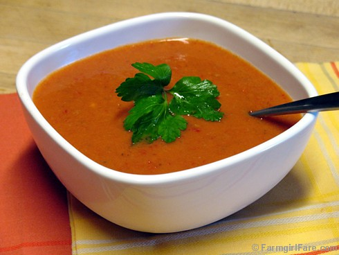 easy no cook summer recipe: gazapcho! (chilled tomato vegetable soup ...