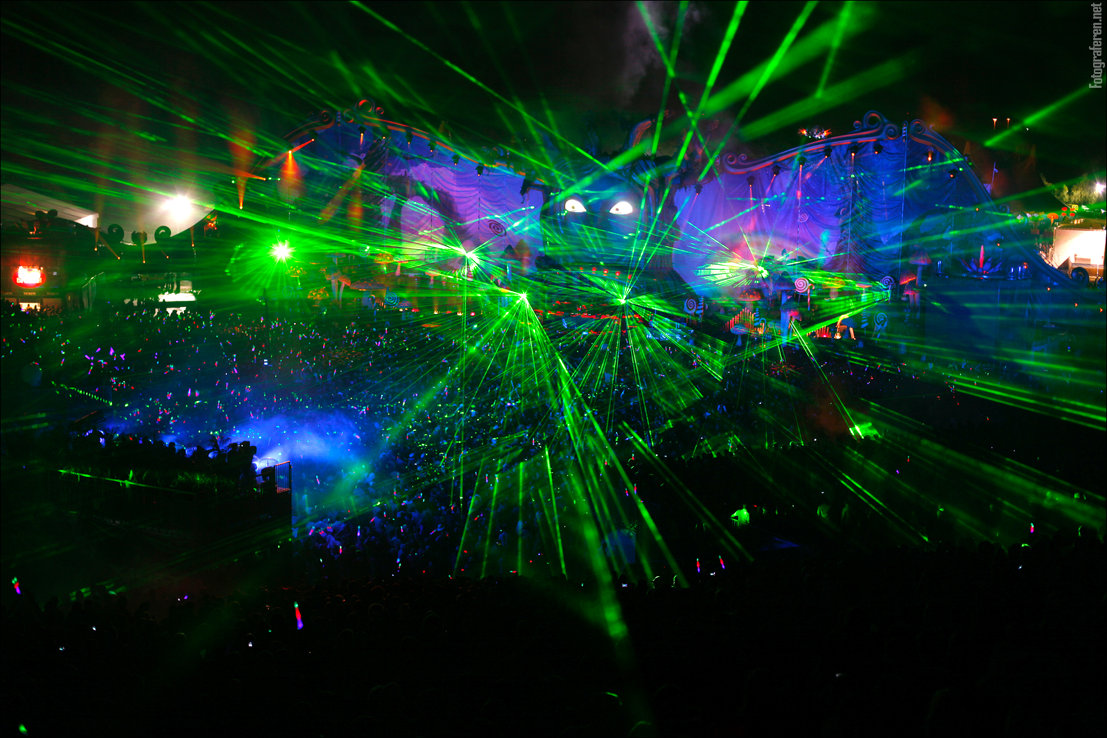 laser show party wallpaper - photo #8