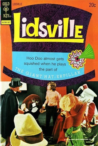 Lidsville Gold Key 4  (01)