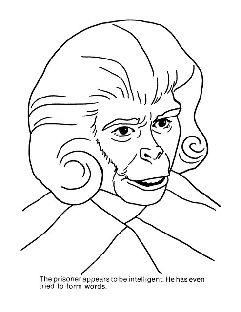 Planet of the Apes Coloring Book 0100041