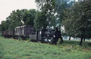 28. Schmalspurbahnnetz von Mława-Ciechanów. Px48 1914. PKP.