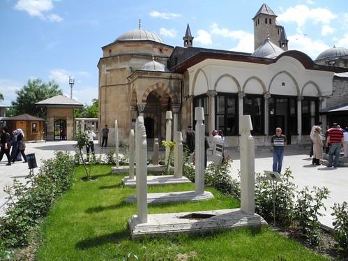 Mevlana Museum & Rumî Tomb Grave stones