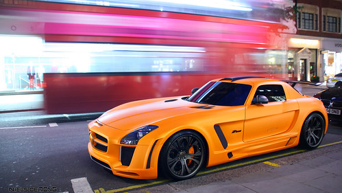 Mercedes SLS FAB Design
