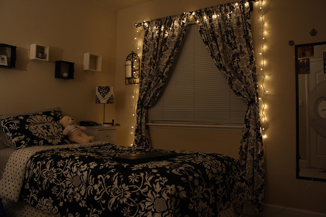 put christmas lights in my room flickr photo sharing