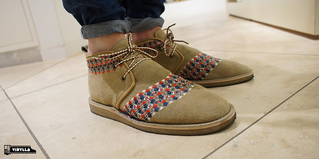 "White Mountaineering ""Wood Chuch"" Desert Boots"