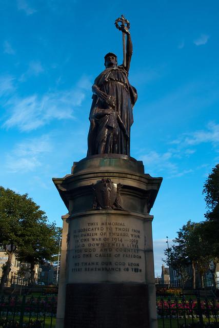 WWI memorial, Thurso