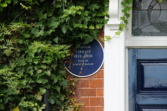 Photo of Robert Chaplin blue plaque