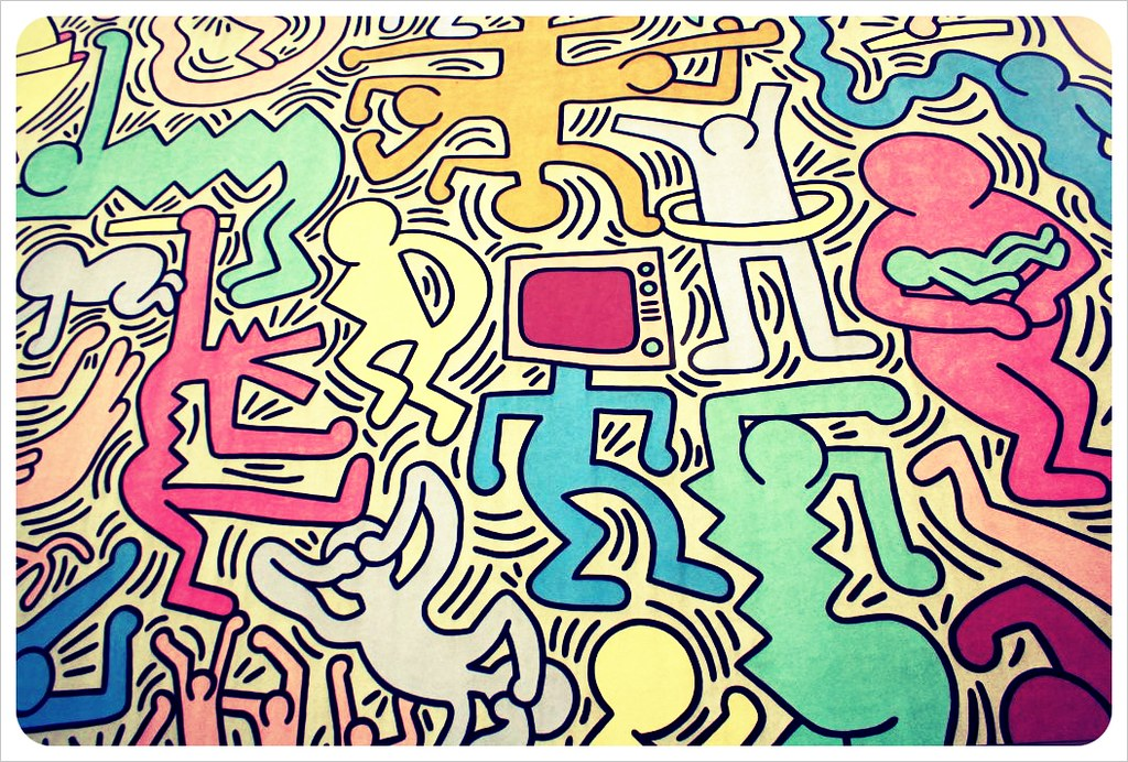 pisa keith haring house