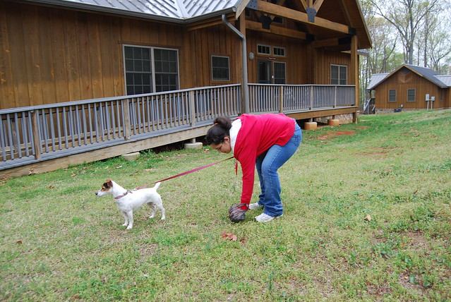 Clean up after your pooch at Virginia State Parks (Occoneechee State Park Lodge)