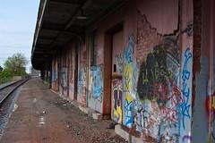 Baxter Ave Train Station