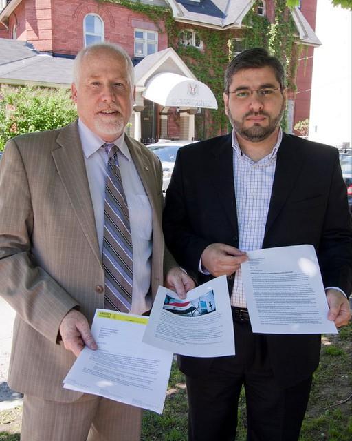 Syria Petition Delivery - Ottawa, Canada
