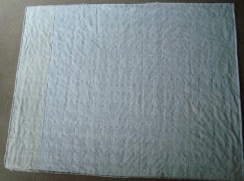 Pillowcase binding tutorial 1