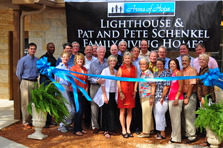 Lighthouse & Pat and Pete Schenkel Family Living Homes Ribbon Cutting & Dedication Ceremony