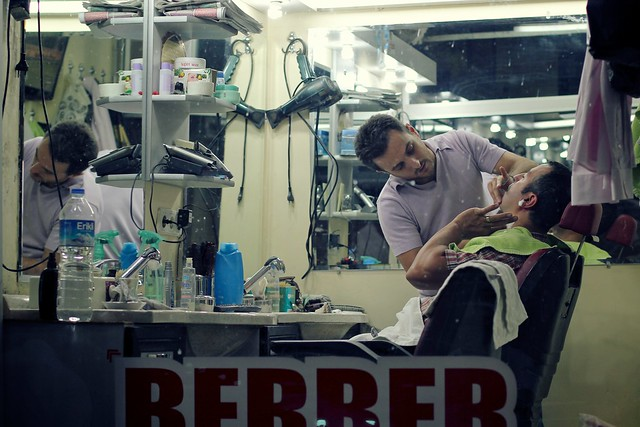 Istanbul barber